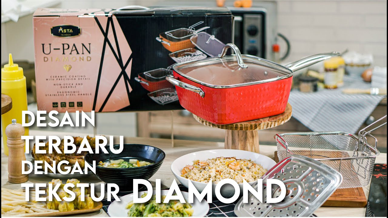 U Pan Diamond 6 in 1, Terbaru dari Asta Homeware